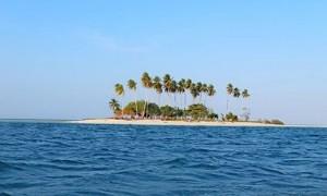 Manimbora, Pulau ala Spongebob di Kalimantan Timur