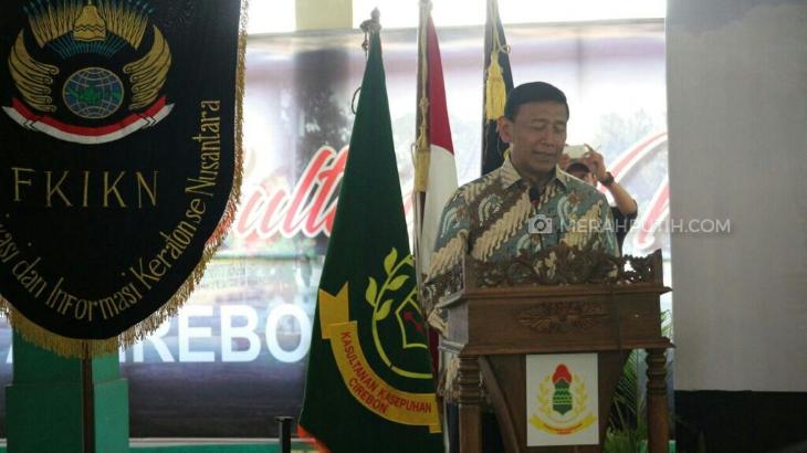 Wiranto: Sultan dan Raja Miliki Andil Besar dalam Kemerdekaan