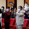 Megawati Orasi, Prabowo Inspektur, Hasto Jadi Mahasiswa Unhan