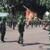 Ratusan Prajurit Yonif 144 Diterjunkan ke Perbatasan RI-Malaysia