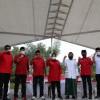 Pendaftaran Eri-Armuji ke KPU Surabaya Dimeriahkan Pentas Seni