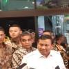 Jenguk Wiranto, Prabowo Yakin Serangan Teroris Tidak Direkayasa