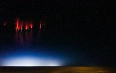 Menakjubkan, Foto Kilat 'Red Sprite' di Prancis