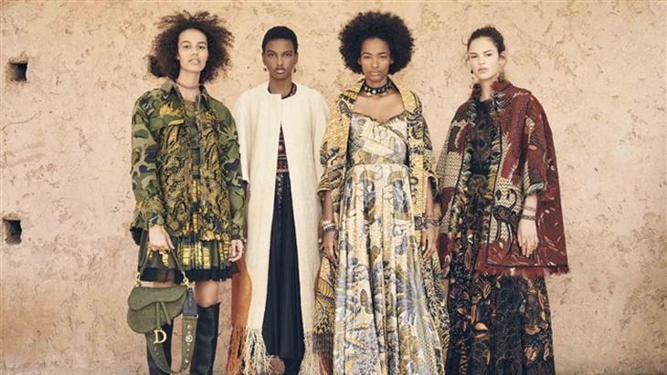 Mirip Batik, Intip Koleksi Terbaru Dior dan Louis Vuitton