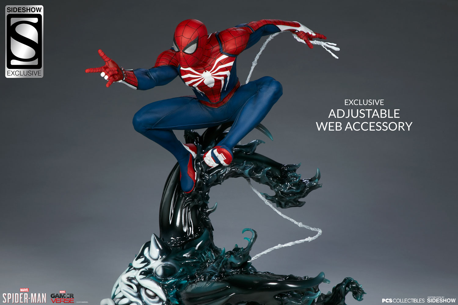 Action Figure Spider-Man Kece dari Sideshow dan PCS Collectibles