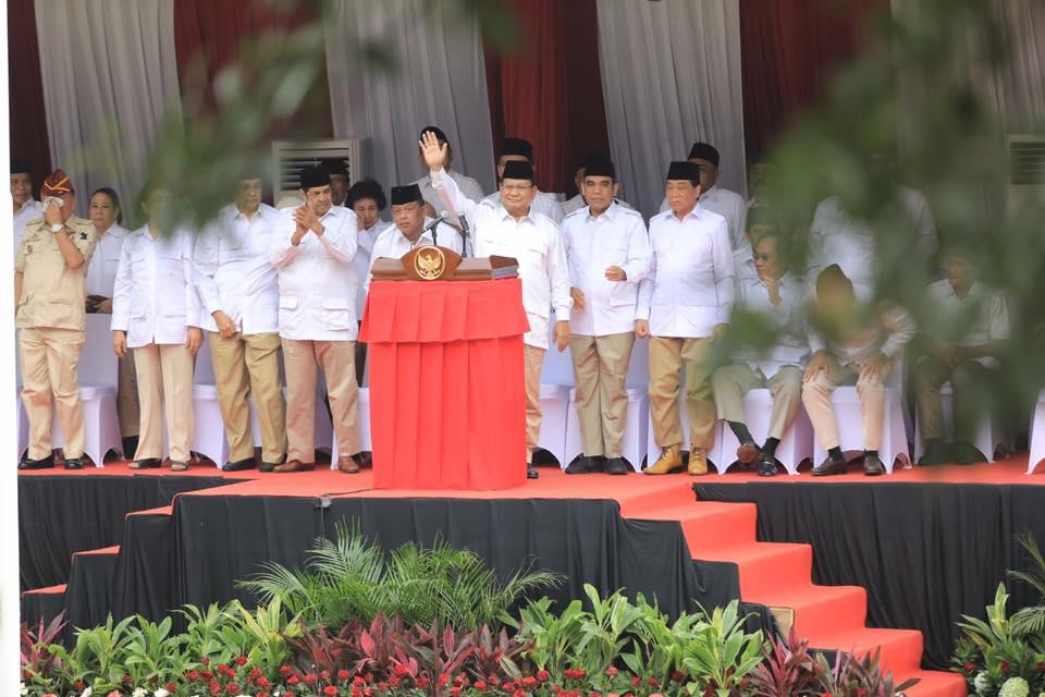Prabowo Klaim Rencana Pemindahan Ibu Kota Perjuangan Gerindra Sejak 2014