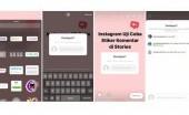 Instagram Bakal Punya Stiker di Komentar Stories