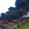 Pertamina Mulai Data Kerugian Warga Terdampak Kebakaran Kilang Balongan