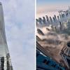Melihat Pemandangan dari Gedung Pencakar Langit Tertinggi di Dunia