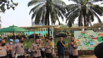 FPI dan PA 212 Demo di DPR, Polisi Awasi Ketat Protokol Kesehatan