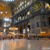 Lepas dari Status Museum, Hagia Sophia Adakan Salat Jumat Perdana