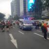 Tragis, Tujuh Pesepeda Dihantam Mobil yang Dikemudikan PNS di Jalan Jenderal Sudirman