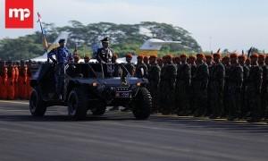 Semarak HUT TNI Angkatan Udara Ke-71