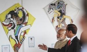 Makna di Balik Diplomasi Layang-Layang Jokowi dan PM India