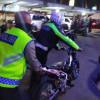 Polisi Tindak Ratusan Motor Berknalpot Bising di Kawasan Monas