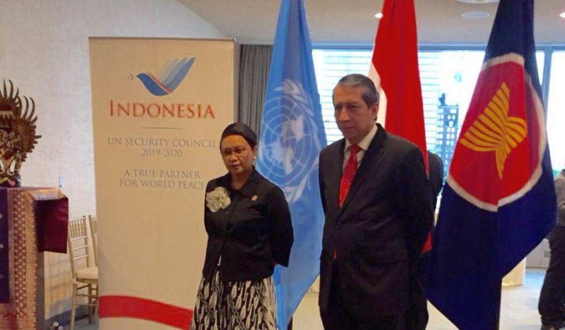 Indonesia Berpeluang Terpilih sebagai Anggota Dewan Keamanan PBB