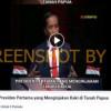 [HOAKS atau FAKTA]: Jokowi Presiden Pertama Injakkan Kaki di Papua
