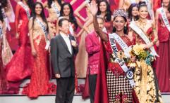 Bunga Jelitha Ibrani Terpilih Jadi Putri Indonesia 2017