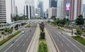 Kondisi Jalan di Jakarta Sepi, Corona Rumahkan Warga