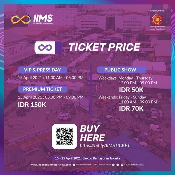 IIMS Hybrid 2021 Resmi Dibuka Presiden Jokowi Secara Virtual