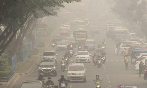 Kabut Asap Kian Pekat, Sekolah-Sekolah di Pekanbaru Lumpuh