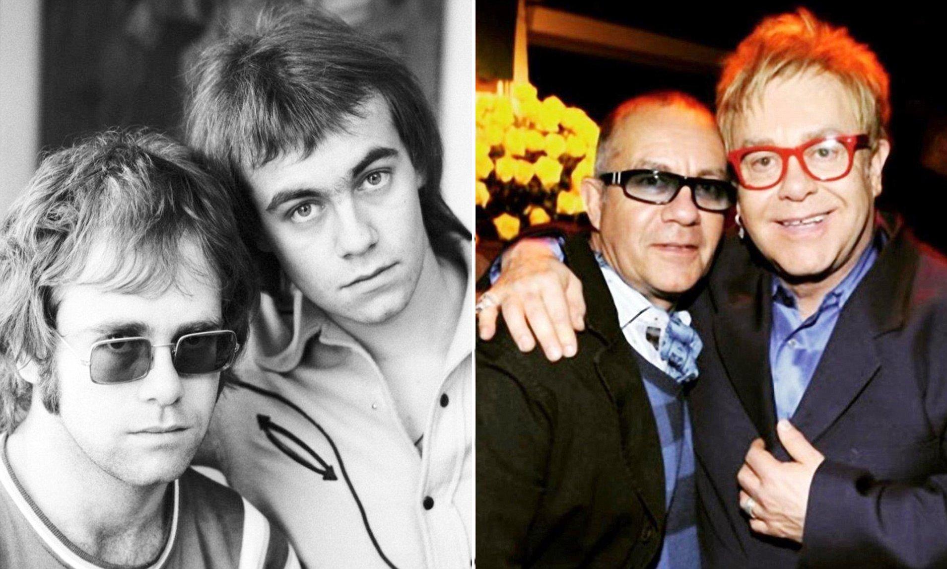 Elton John dan Bernie Taupin. (Foto Daily Mail)