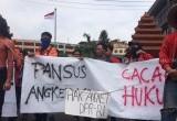Demo Hak Angket KPK, BEM Jatim Minta Warga Ajukan Gugatan Hukum